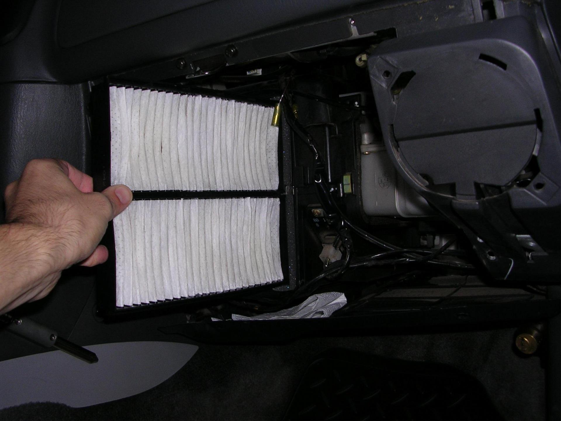 Как правильно ставится салонный фильтр