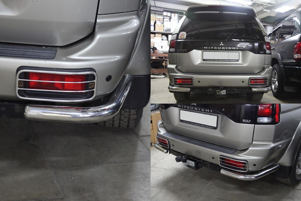 Mitsubishi Pajero и тюнинг заднего бампера