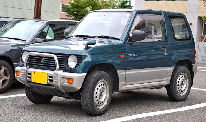 Мицубиси мини паджеро левый руль фото
