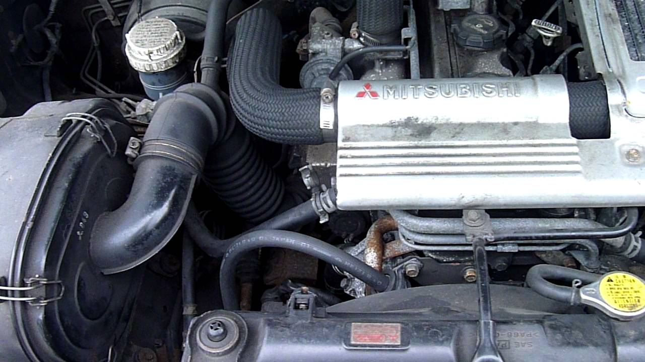 Двигатель мицубиси паджеро 2 8 дизель