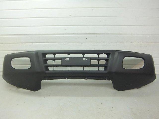 Бампер передний мицубиси паджеро 3 стандартный
