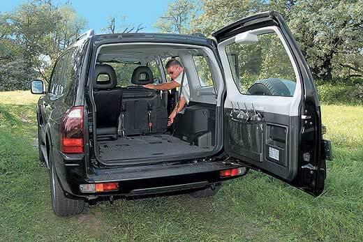 Огромный багажник Вагона
