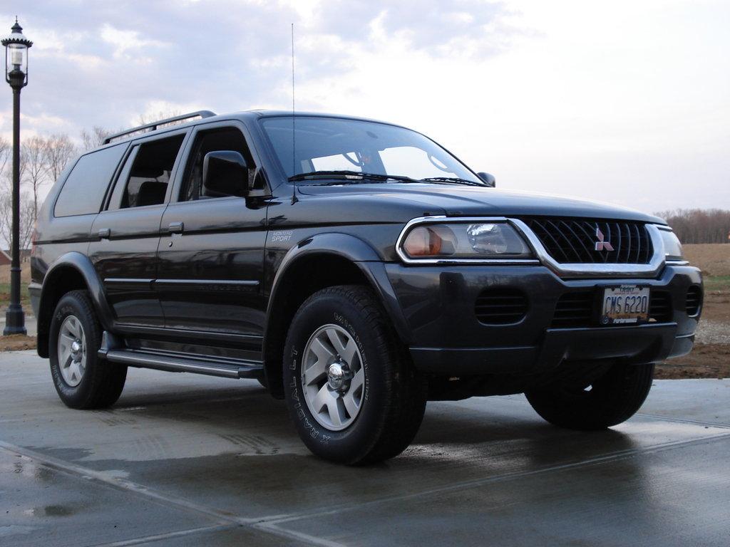 Mitsubishi pajero sport 2000 технические характеристики
