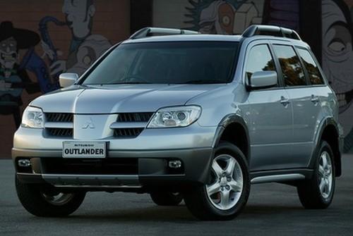 Технические характеристики Mitsubishi Outlander 2004