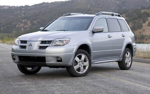 Mitsubishi Outlander 2005 технические характеристики