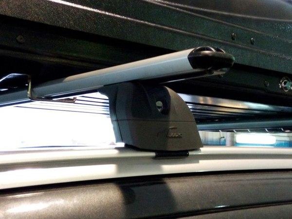 Багажник на рейлинги автомобиля митсубиси аутлендер 3