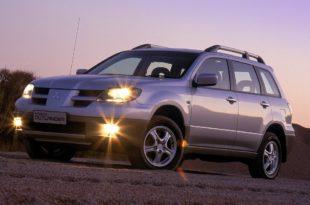 Mitsubishi Outlander 2003 технические характеристики