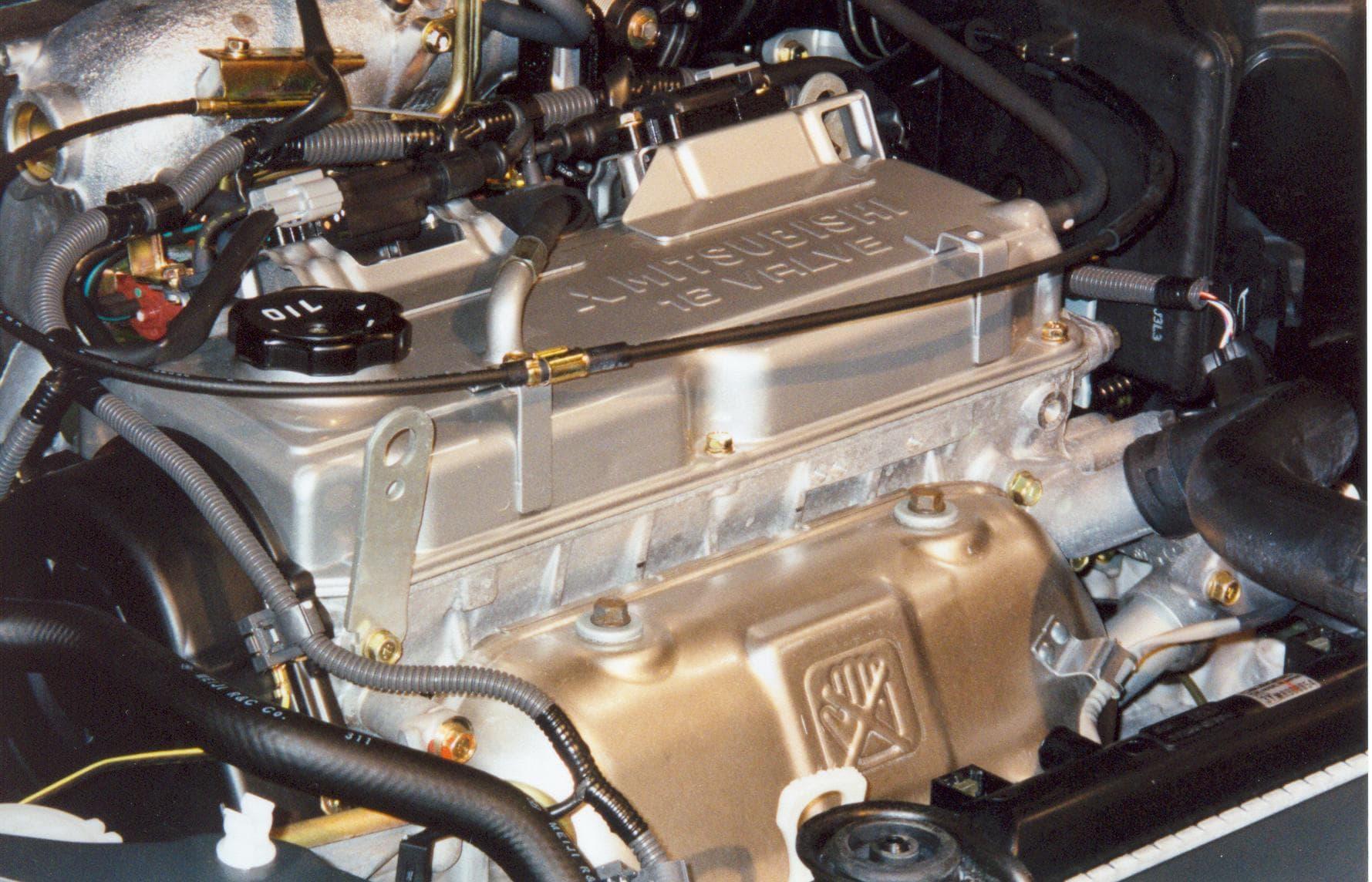 2-литровый мотор 4G94