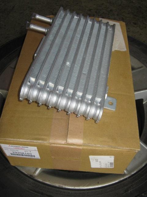 Охлаждение вариатора аутлендер через радиатор
