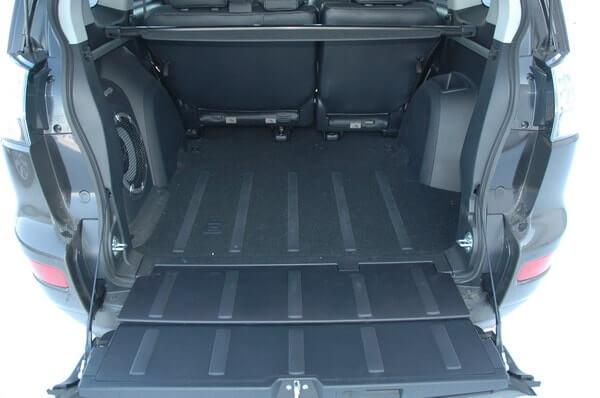 Мицубиси Аутлендер 2007 технические характеристики багажника