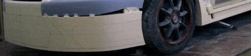 Обвес прямо на бампере