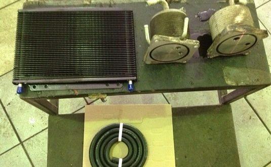 Радиатор охлаждения вариатора дополнительный
