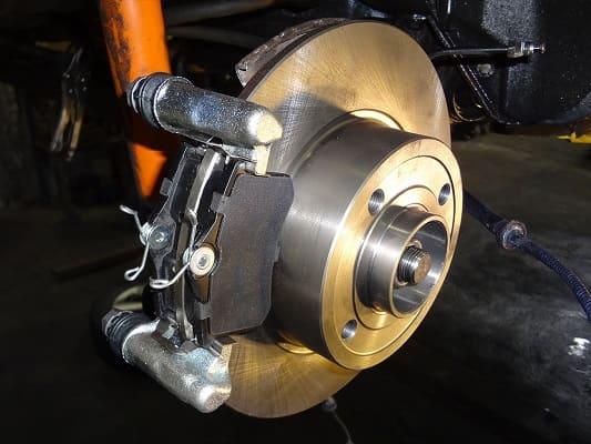 Задний дисковый тормоз