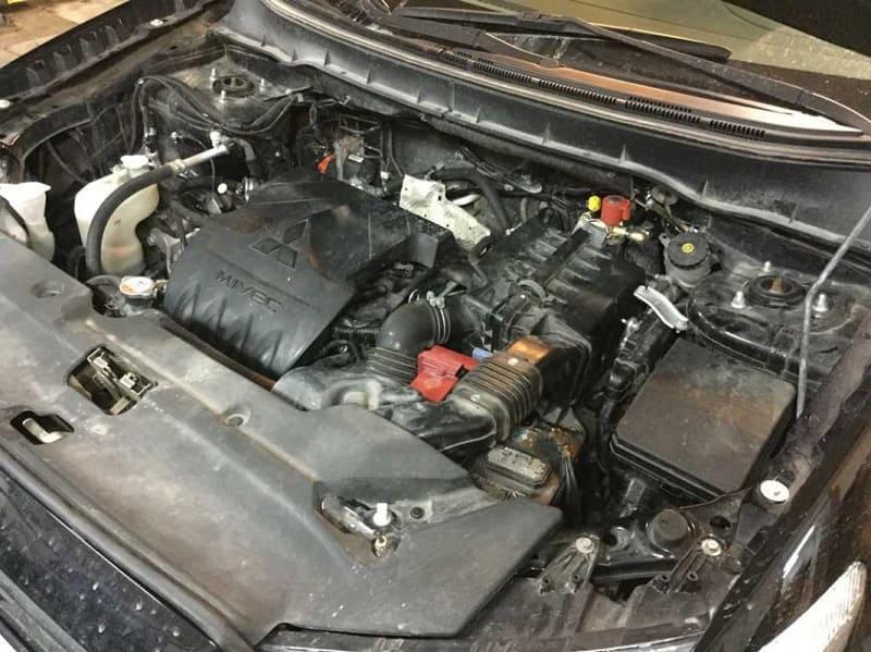 Двигатель ASX 1.6