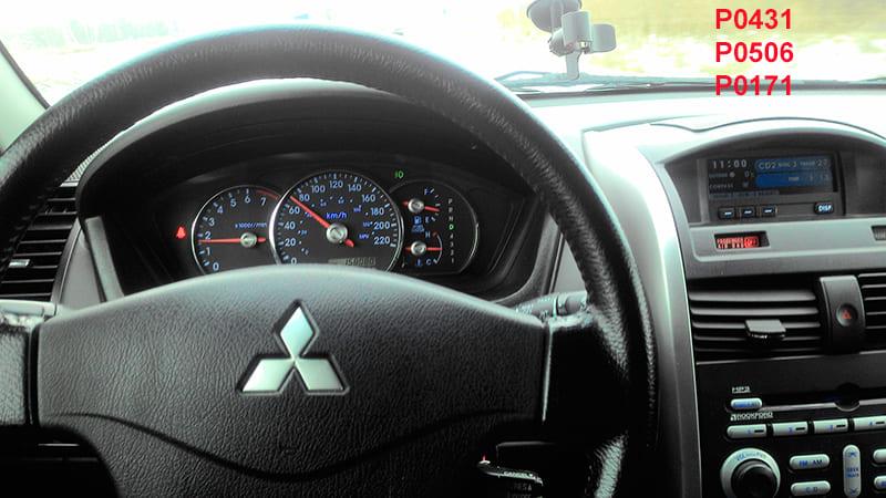 Ошибки Mitsubishi Galant