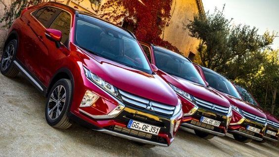 Мицубиси Эклипс Кросс - новый кузов, характеристики