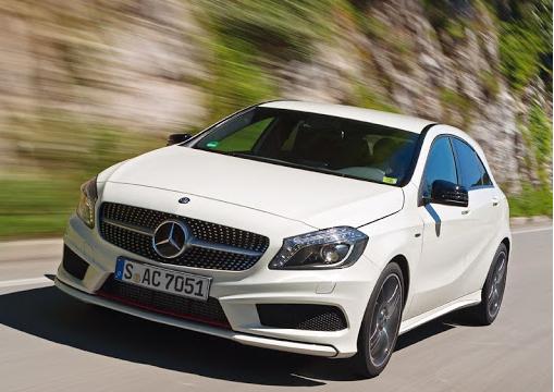Обновленный дизайн Mercedes-Benz A-Class