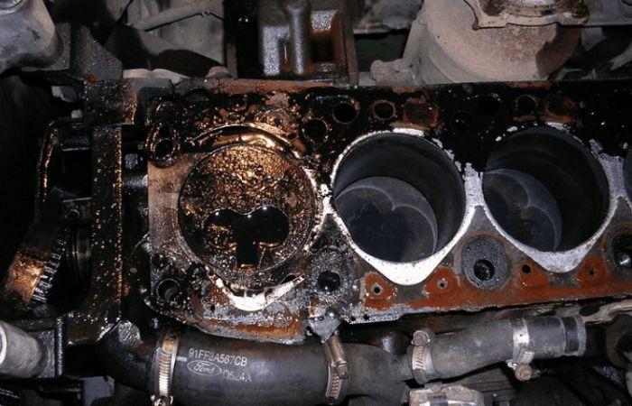 двигатель после гидроудара