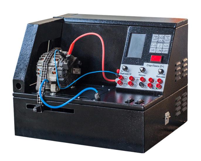 Открываем свое СТО и шиномонтаж - стенд для проверки генераторов и стартеров